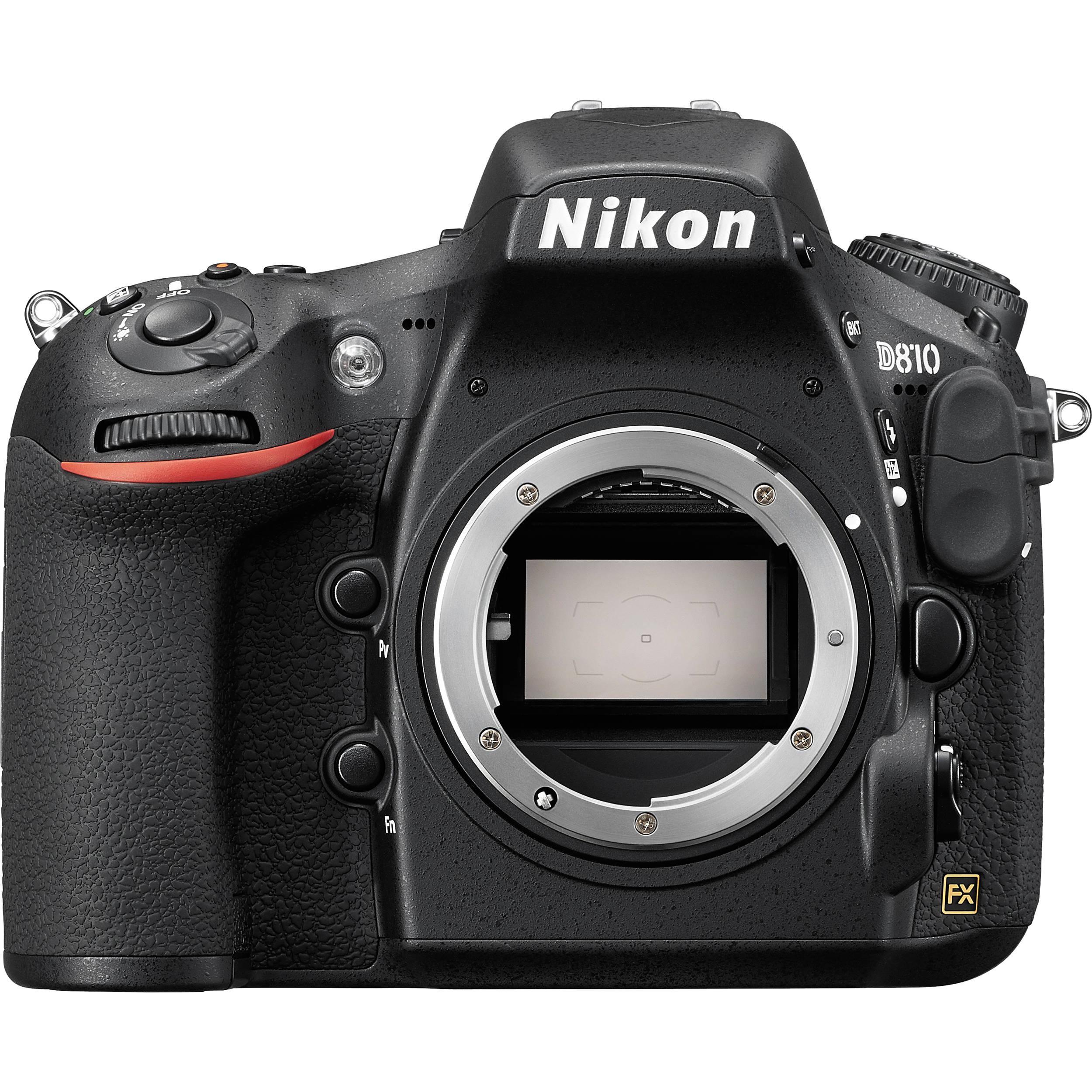Reflexkamera - Nikon D810 Ohne Objektiv - Schwarz