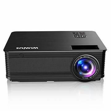 Videoproiettori Wimius p18 4000 Luminosità Nero