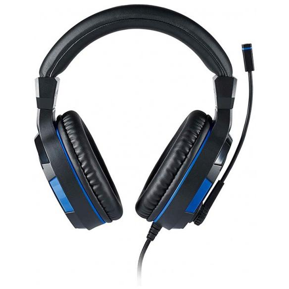 Bigben Stereo Gaming Headset Gaming Headphones with microphone - Black/Blue