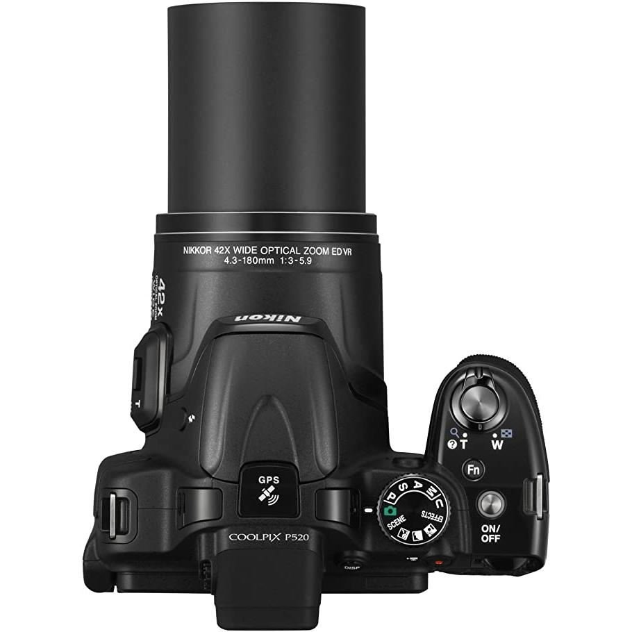 Cámara Reflex - Nikon Coolpix P520 - Negro