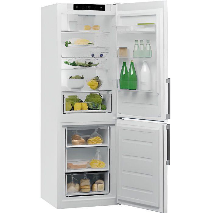 Réfrigérateur congélateur bas Whirlpool W5821cwh