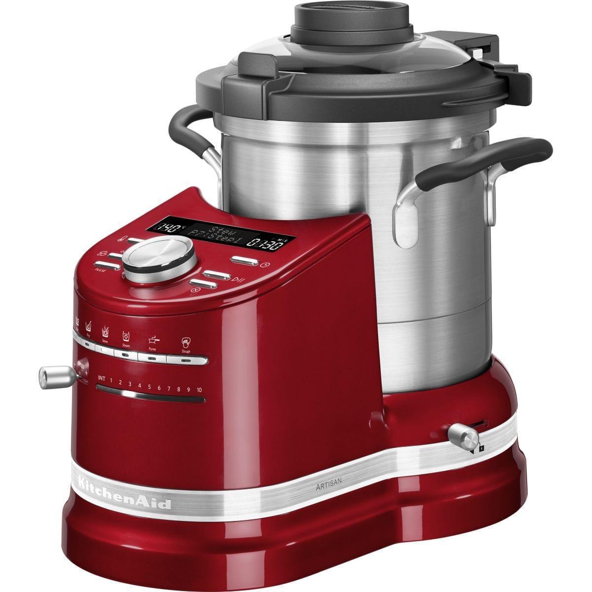 Procesador de alimentos multifunción Kitchenaid Cook Processor 5KCF0104 - Rojo