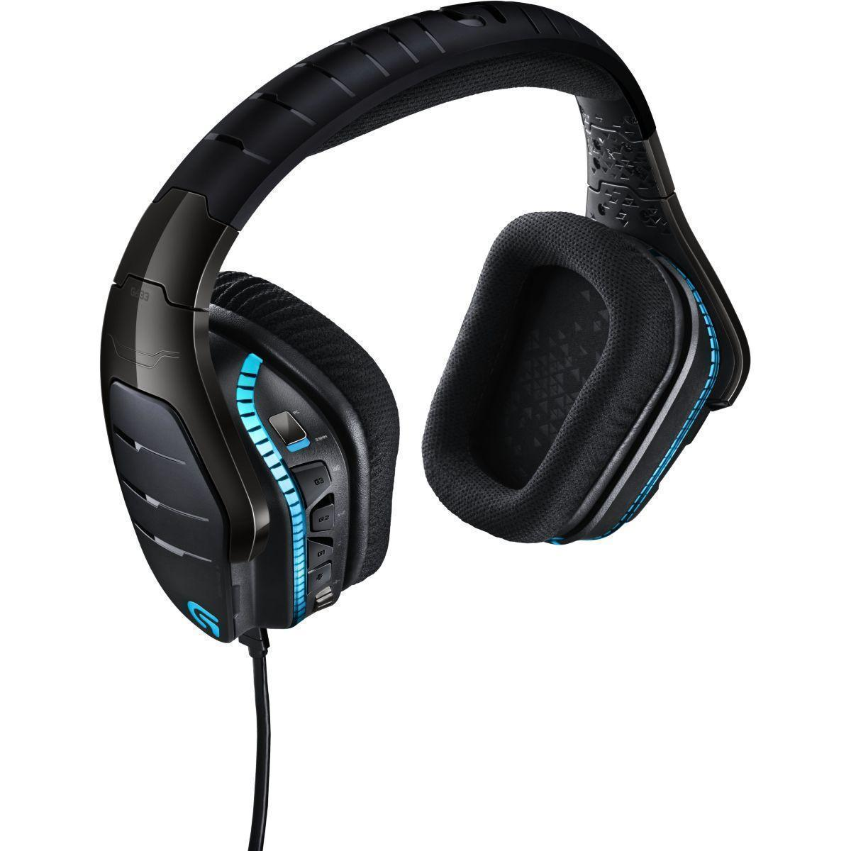 G633 Artemis Spectrum Geluidsdemper Gaming Hoofdtelefoon - Microfoon Zwart
