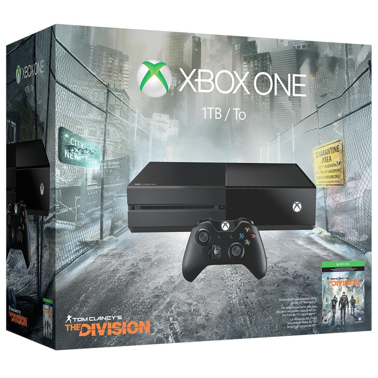 Xbox One - HDD 1 TB - Schwarz