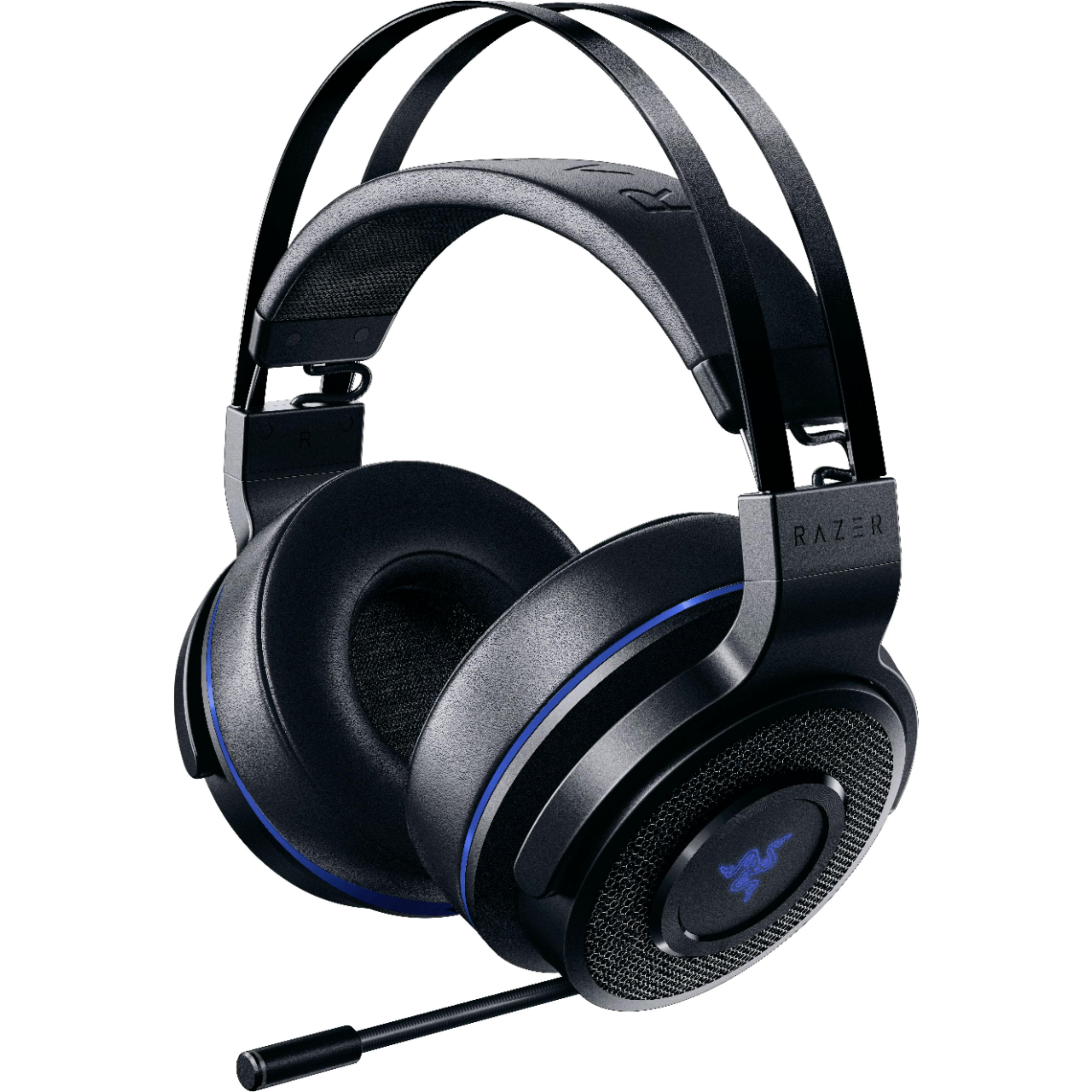 Kopfhörer Rauschunterdrückung Gaming mit Mikrophon Razer Thresher Ultimate - Schwarz/Blau