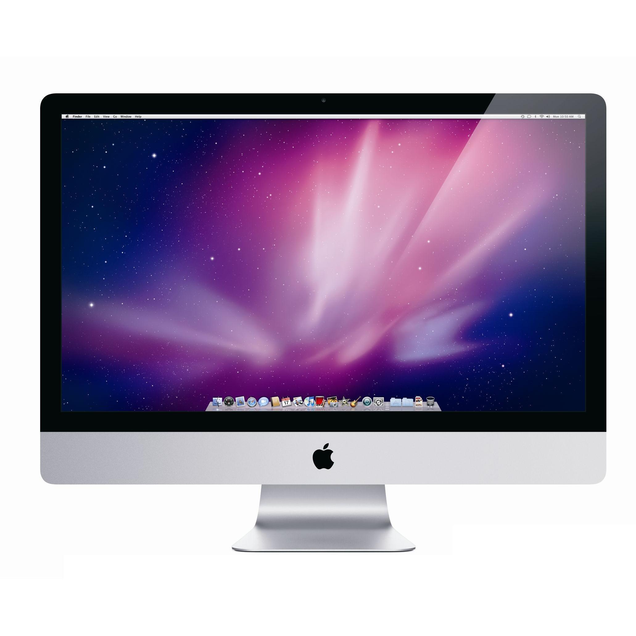 """iMac 27"""" (Mitte-2011) Core i7 3,4 GHz - HDD 1 TB - 4GB AZERTY - Französisch"""