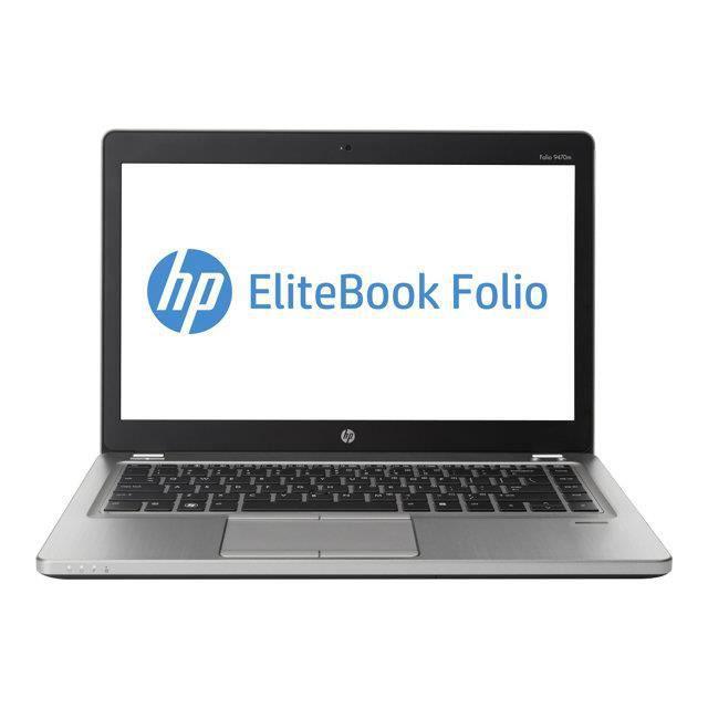 HP EliteBook Folio 9470M 14-inch (2013) - Core i5-3427U - 4GB - SSD 240 GB AZERTY - Francês