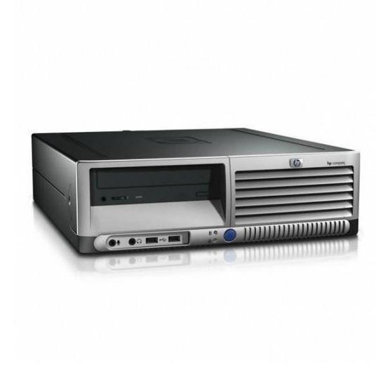 "Hp Compaq DC7700P SFF 19"" Core 2 Duo 1,86 GHz - HDD 500 Go - 4 Go"