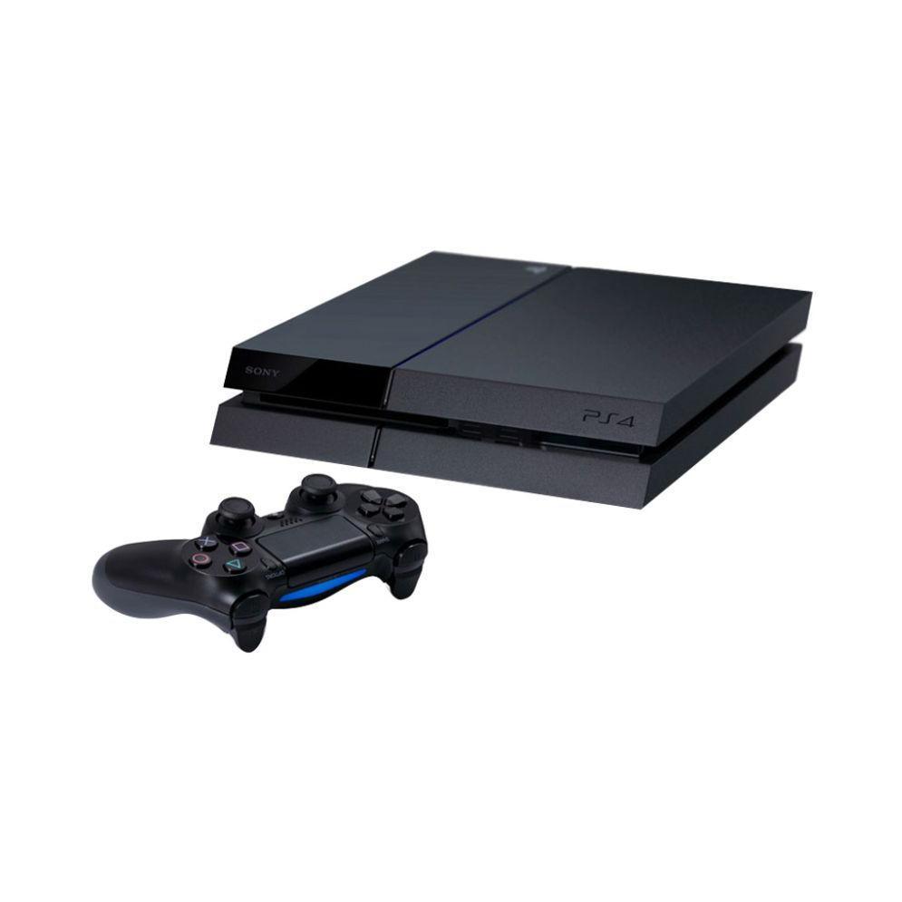 PlayStation 4 - HDD 500 GB - Schwarz