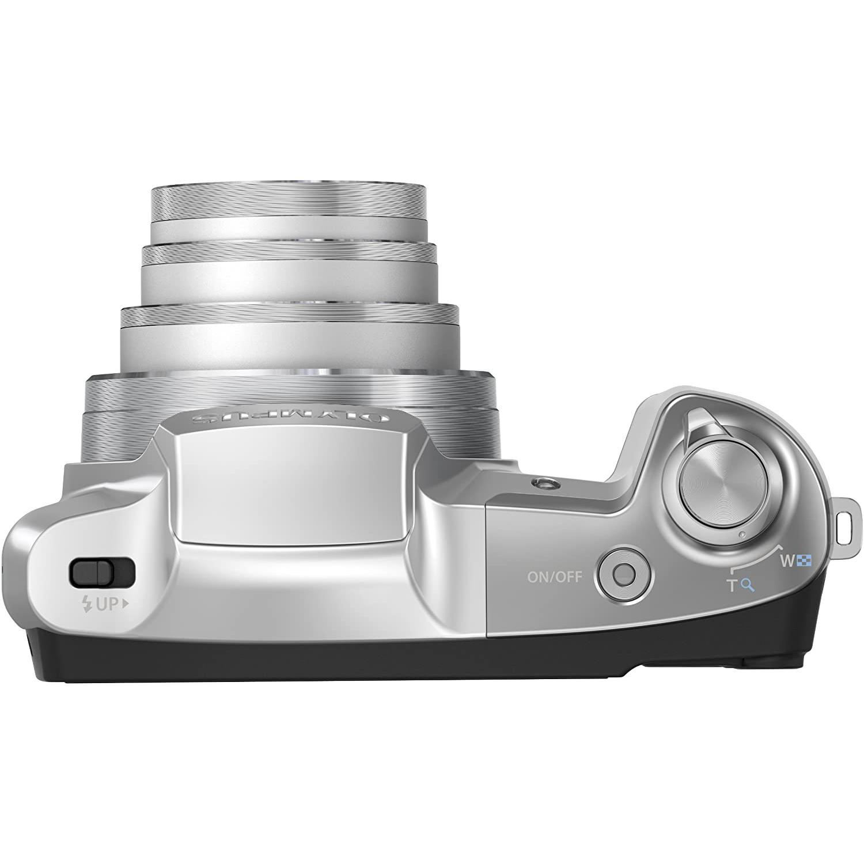 Kompaktkamera - OLYMPUS SZ-16 - Weiß