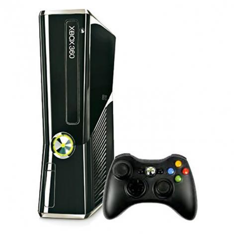 Xbox 360 Slim - HDD 500 GB - Čierna