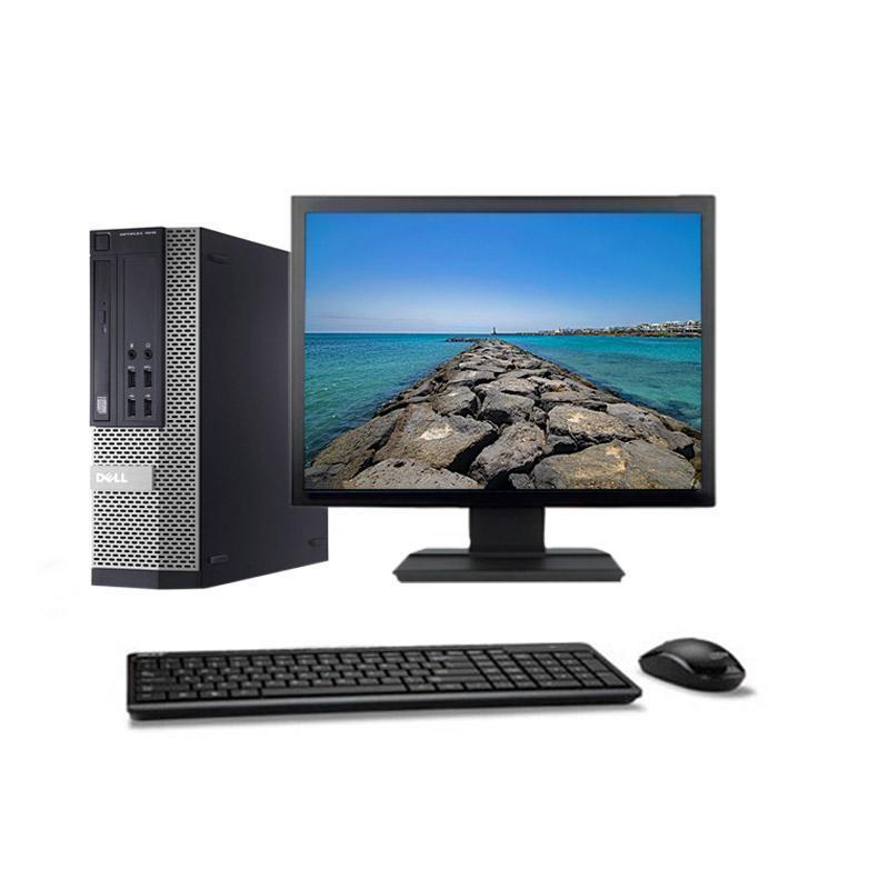 """Dell Optiplex 7010 SFF 22"""" Core I5-2400 3,1 GHz - SSD 480 GB - 8GB teclado francés"""