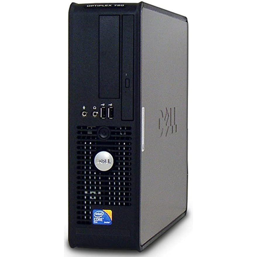 """Dell OptiPlex 780 SFF 19"""" Core 2 Duo 2,93 GHz - HDD 750 Go - 4 Go"""
