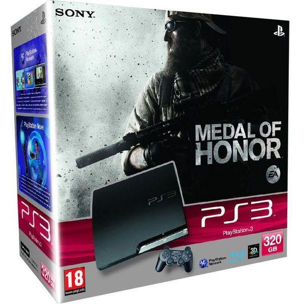 PlayStation 3 Slim - HDD 320 GB - Čierna
