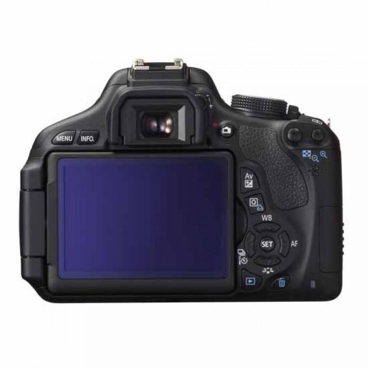 Reflexkamera - Canon EOS 600D Ohne Objektiv - Schwarz
