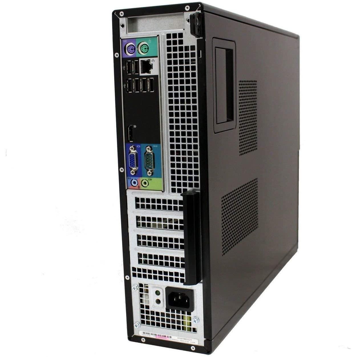 """Dell OptiPlex 790 SFF 19"""" Pentium 2,8 GHz - SSD 240 Go - 16 Go"""