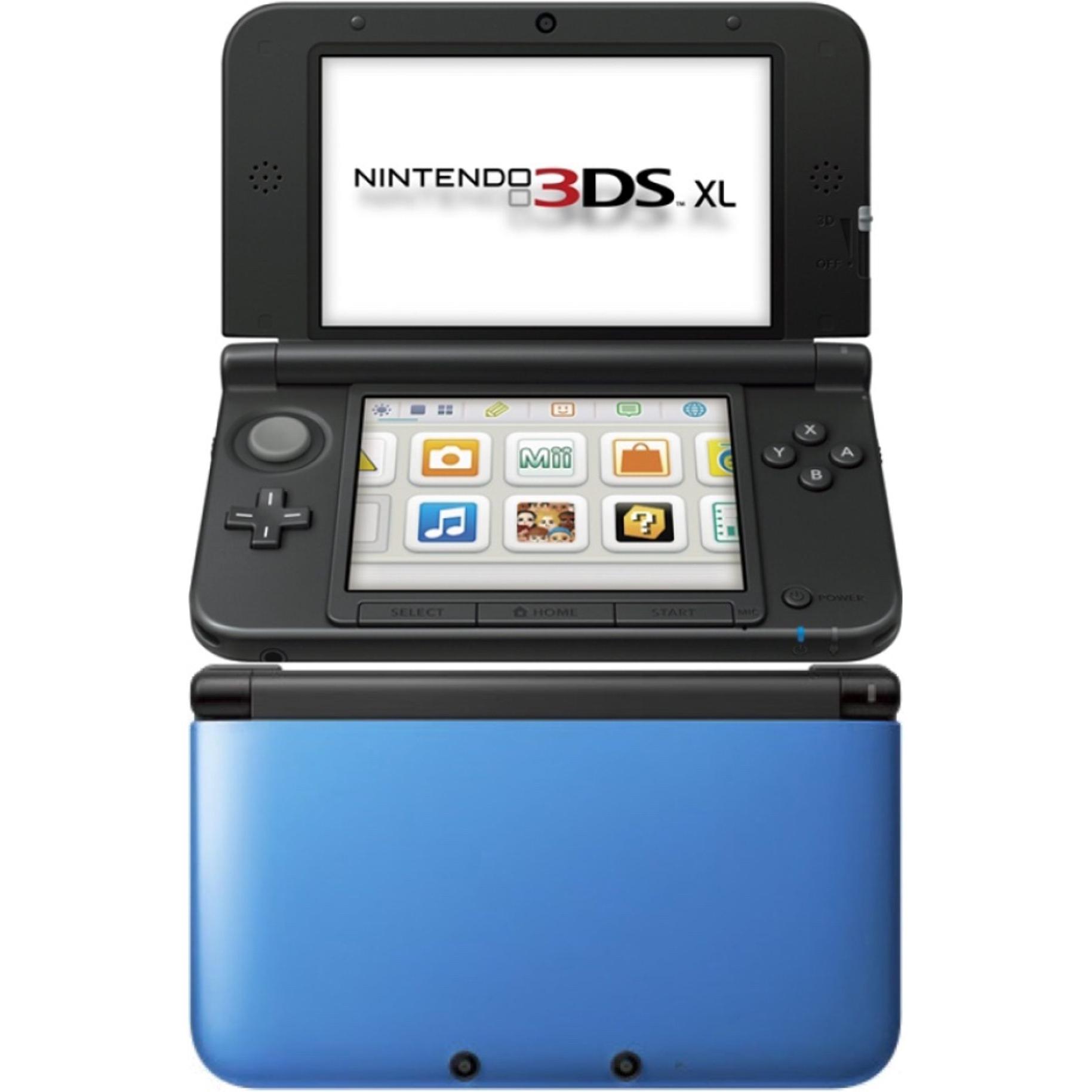 Konsoli Nintendo New 3DS XL 4GB - Sininen