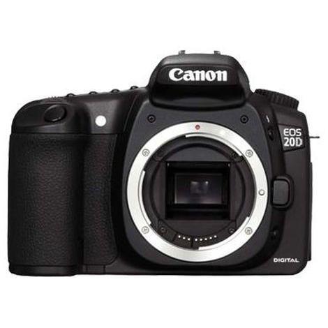 Canon EOS 20D Zrkadlovka 8 - Čierna