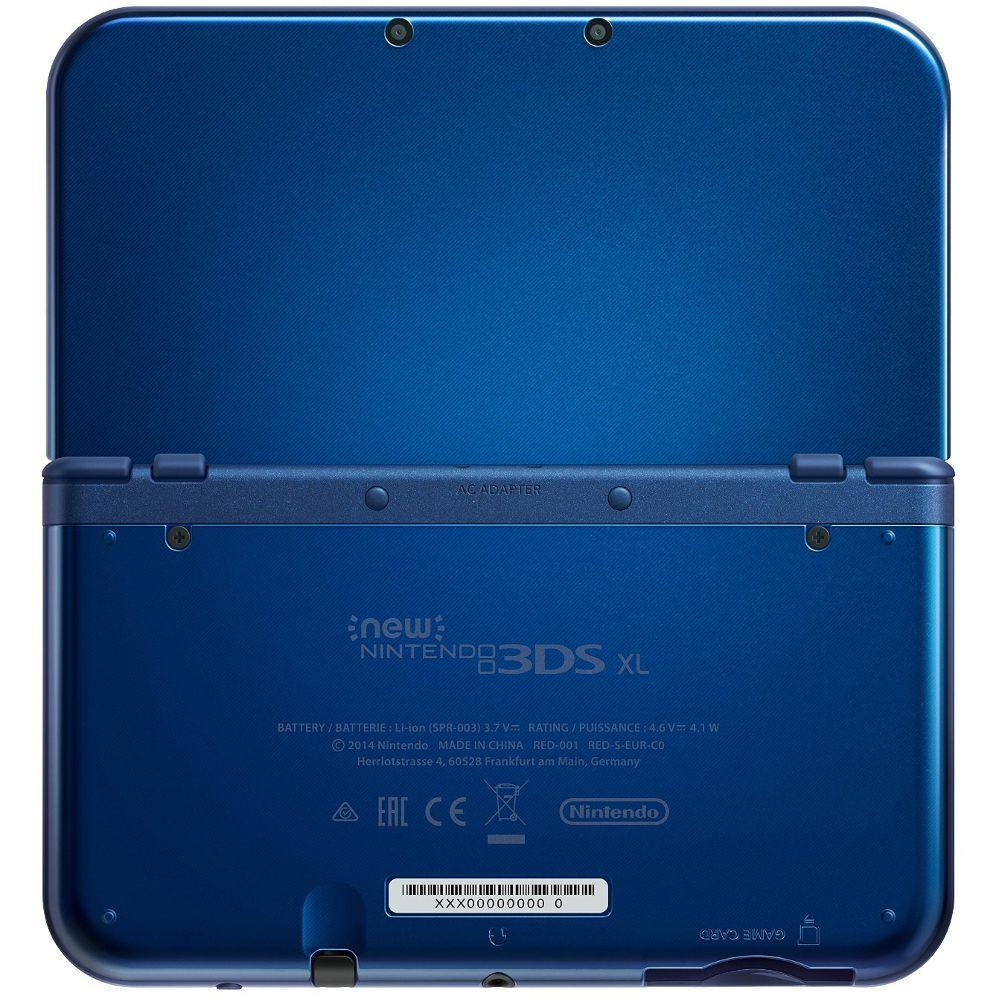 New Nintendo 3DS XL - HDD 0 MB - Azul