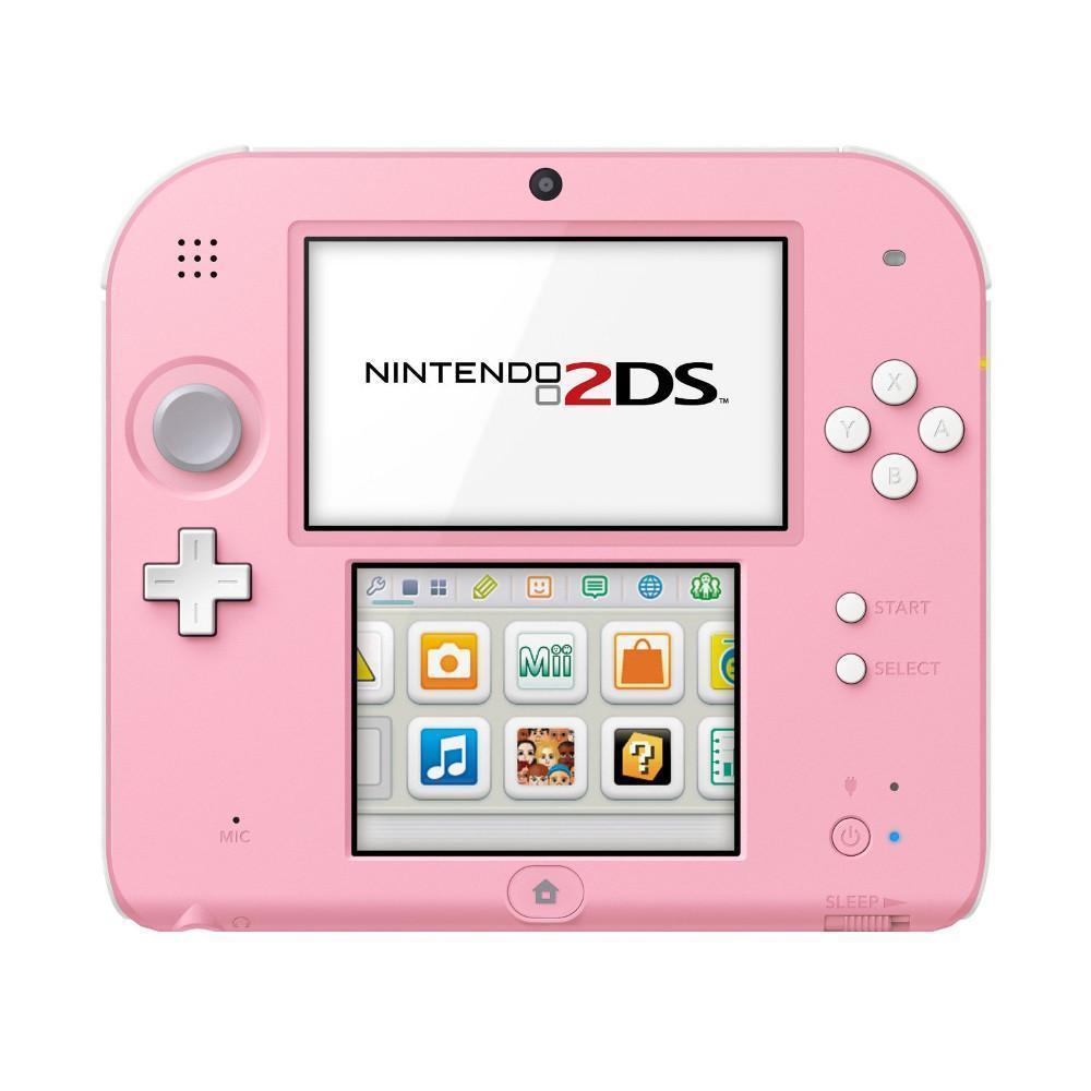 Consola de jogos Nintendo 2DS + Tomodachi Life Game - Branco/Rosa