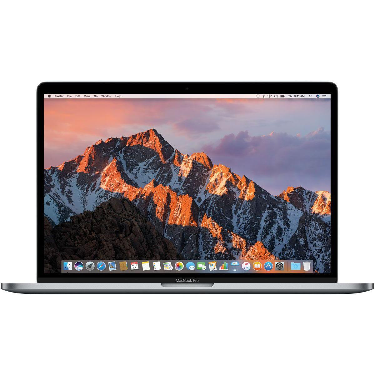 """MacBook Pro Touch Bar 15"""" Retina (2019) - Core i7 2,6 GHz - SSD 256 GB - 16GB - QWERTY - Englisch (US)"""