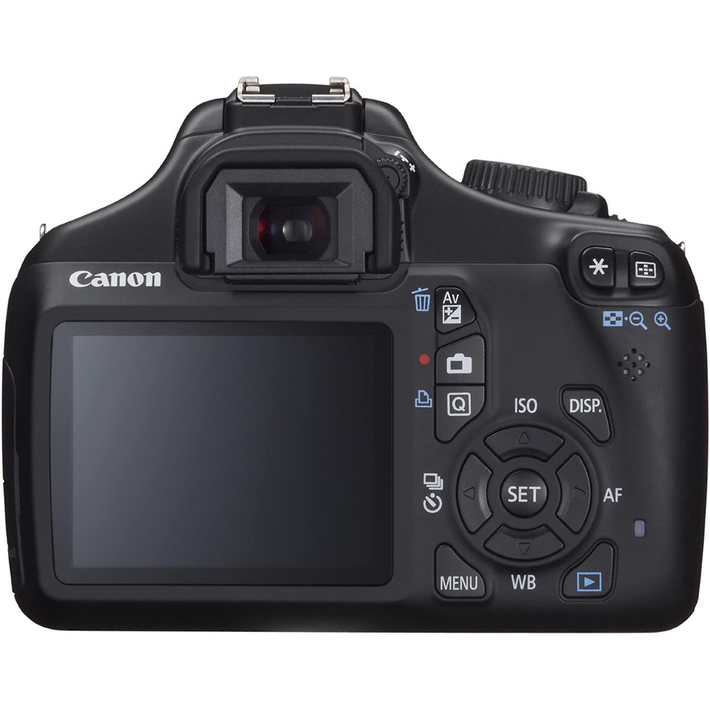 Canon EOS 1100D Hybrid 18 - Svart