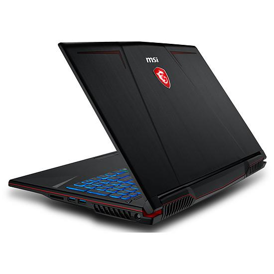 "MSI GP63 8RE-034FR Leopard 15"" Core i7 2,3 GHz - SSD 256 GB + HDD 1 TB - 8GB - NVIDIA GeForce GTX 1060 6GO Teclado Francés"