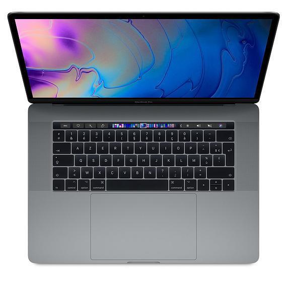 MacBook Pro Retina 15,4-tum (2017) - Core i7 - 16GB - SSD 256 GB QWERTZ - Tyska
