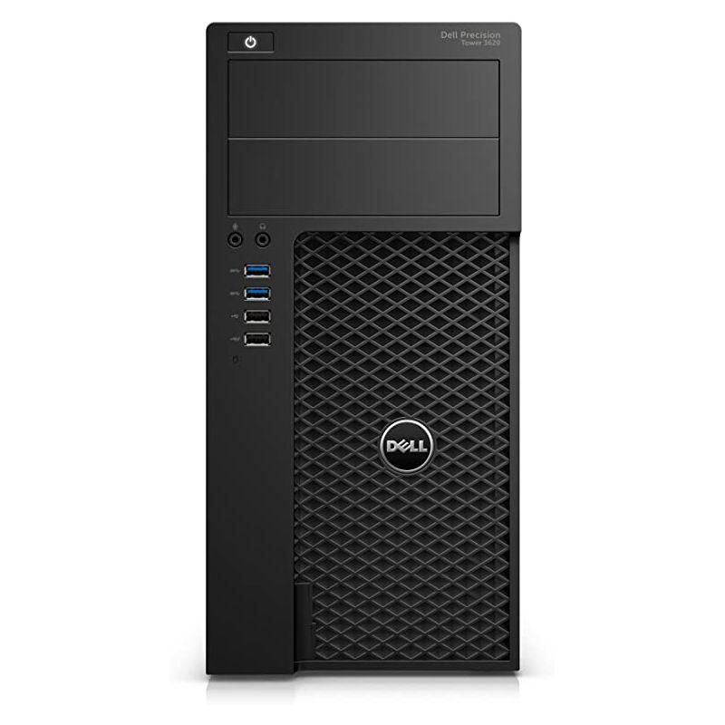 Dell Precision Tower 3620 Xeon E3 3,6 GHz - SSD 512 Go + HDD 2 To RAM 32 Go