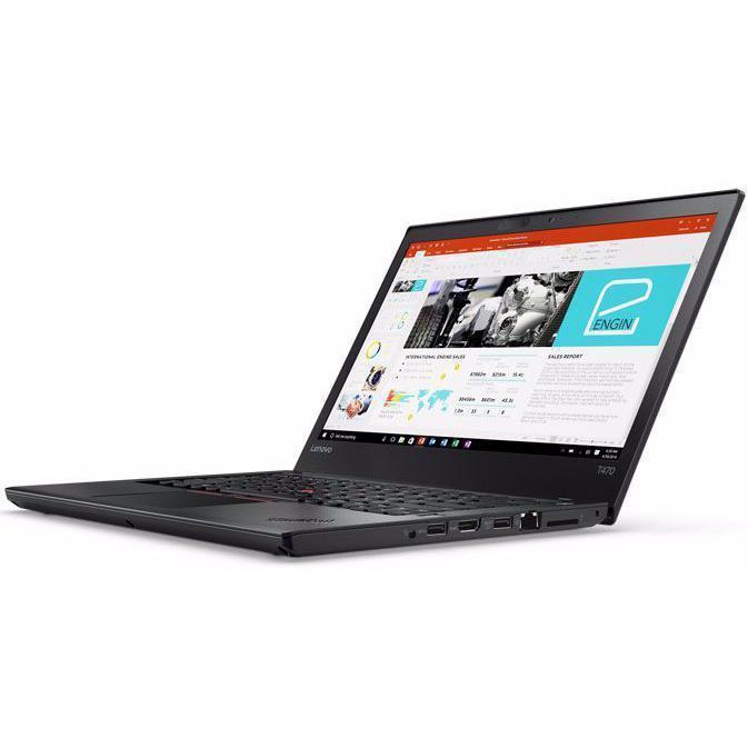 "Lenovo ThinkPad T470 14"" Core i5 2,6 GHz - SSD 256 Go - 8 Go QWERTY - Danois"