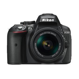 Reflex - Nikon D5300 Noir Nikon Nikon AF-P 18-55mm f/3.5-5.6G VR