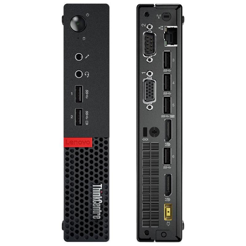 Lenovo ThinkCentre M710Q Tiny Core i5-6400T 2,2 - SSD 128 GB - 8GB