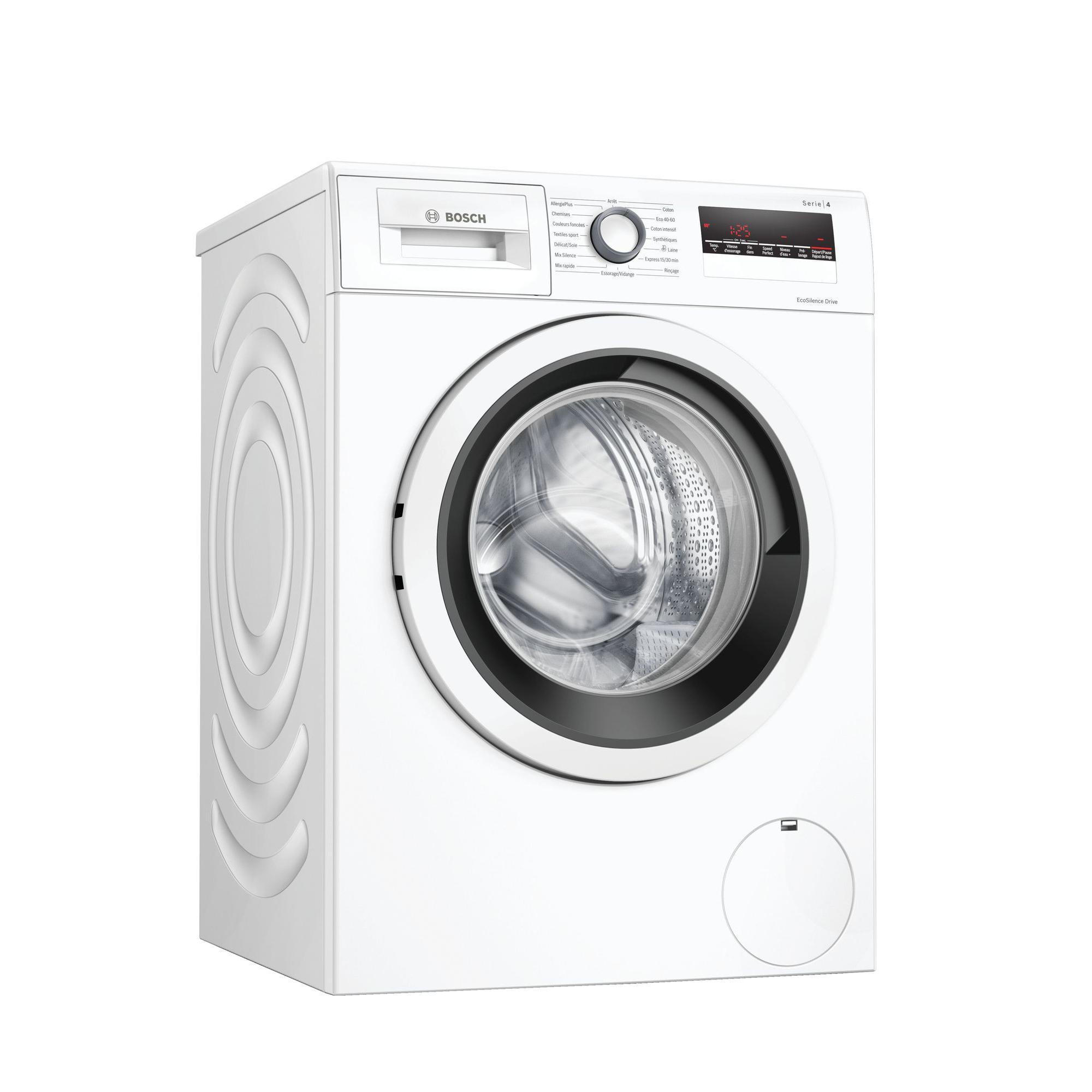 Lave-linge classique 59,8 cm Frontal Bosch WAN28238FF