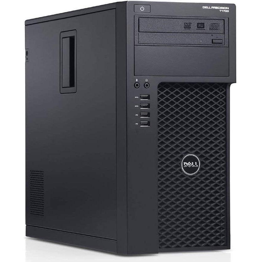 Dell Precision T1700 Xeon E3 3,6 GHz - SSD 480 Go + HDD 2 To RAM 16 Go