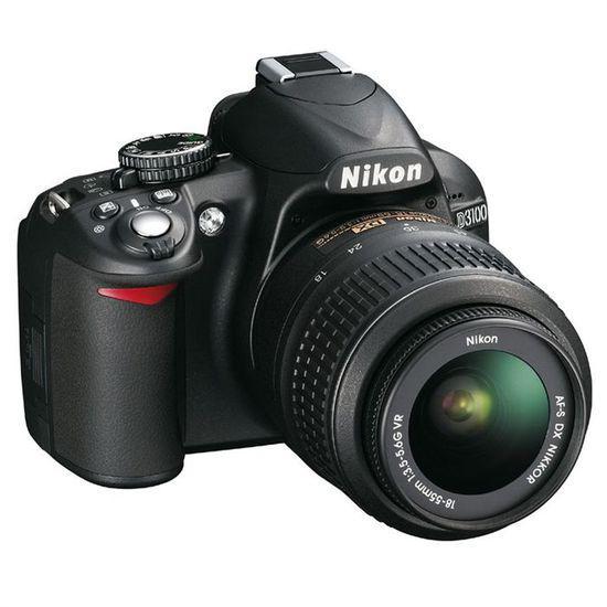 Reflex - Nikon D3100 Noir Nikon AF-S DX Nikkor 18-55mm f/3.5-5.6 VR