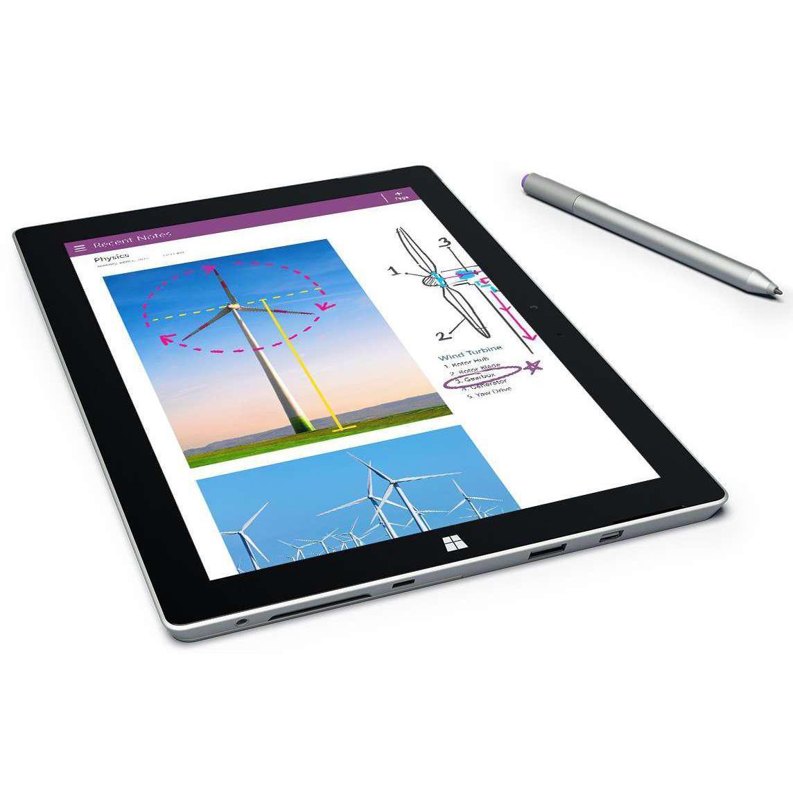 "Microsoft Surface 3 10"" Atom x7 1,6 GHz - SSD 64 Go - 4 Go"