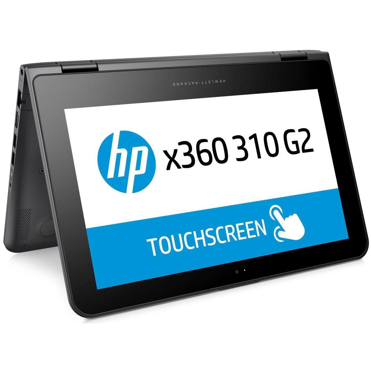 """HP X360 310 G2 11"""" Pentium 1,6 GHz - SSD 256 Go - 4 Go AZERTY - Français"""