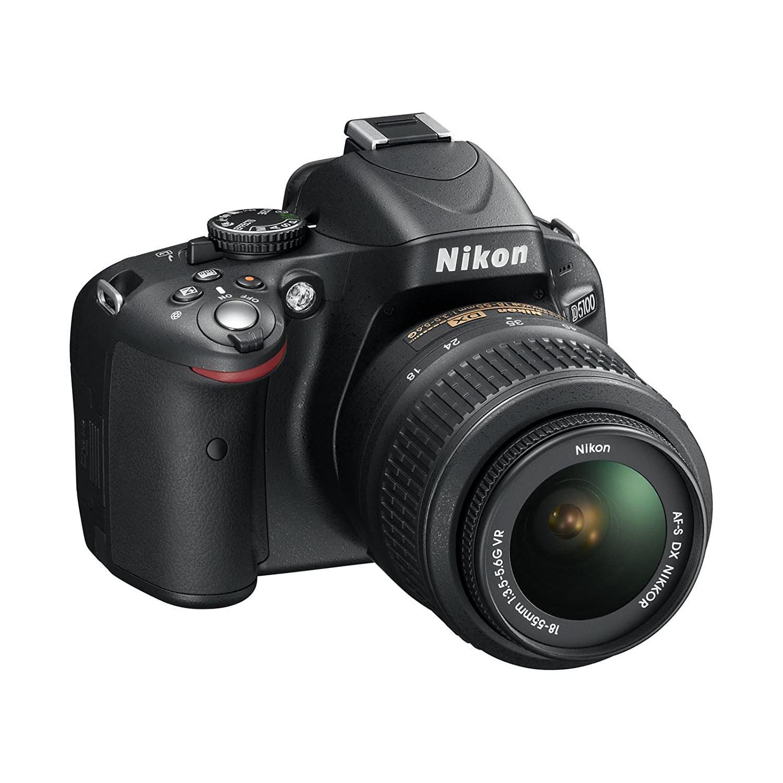 Reflex - Nikon D5100 Noir Nikon Nikon AF-S DX Nikkor 18-55mm f/3.5-5.6G VR