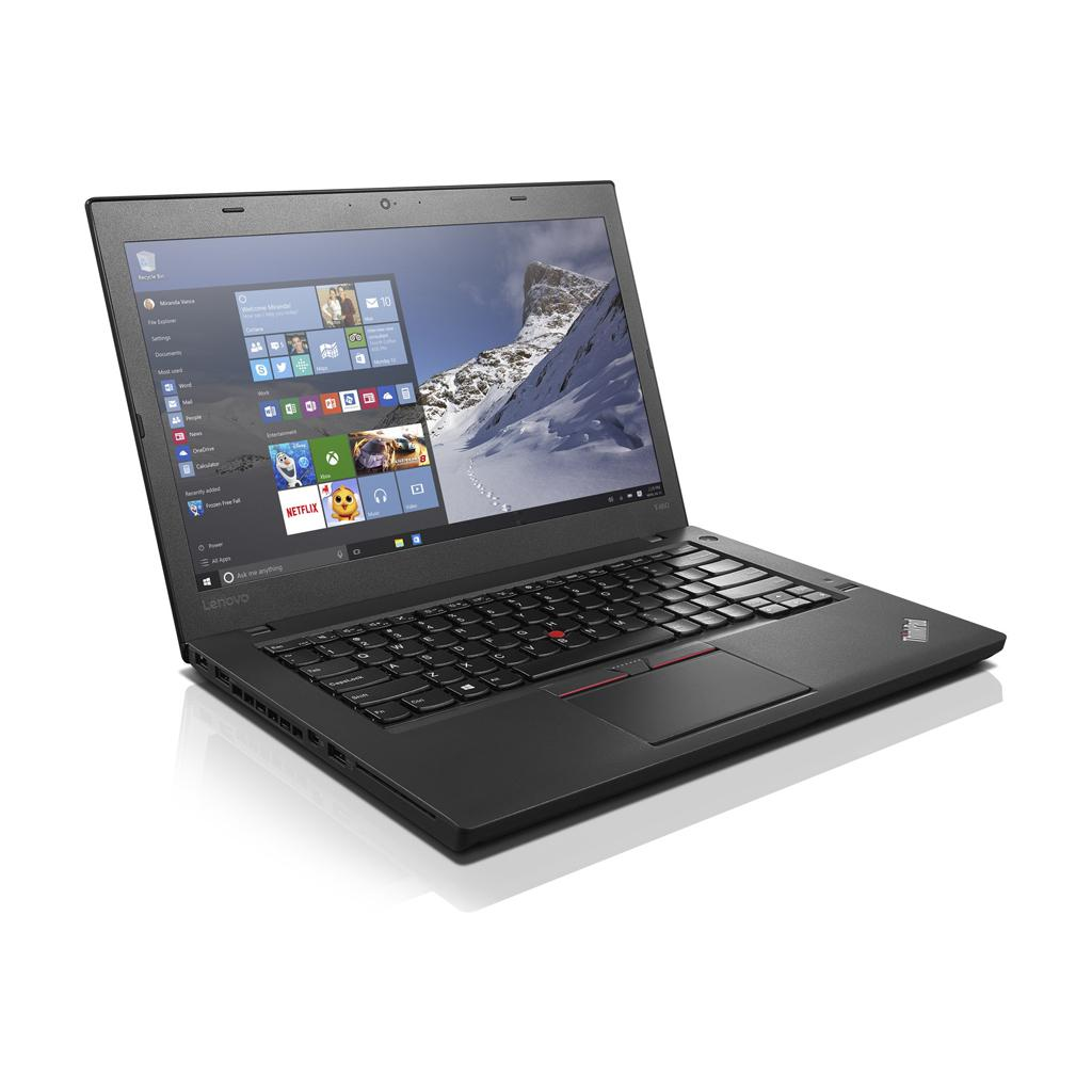 "Lenovo ThinkPad T460 14"" Core i5 2,4 GHz - SSD 256 Go - 8 Go QWERTY - Anglais (US)"