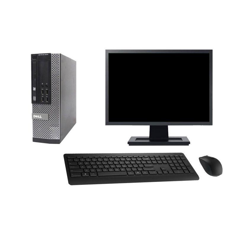 """Dell OptiPlex 9010 SFF 19"""" Pentium 2,7 GHz - SSD 960 Go - 16 Go"""
