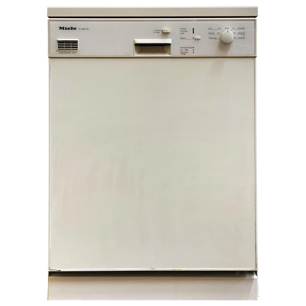 Lave-vaisselle pose libre 60 cm Miele G646SC - 12.0 Couverts