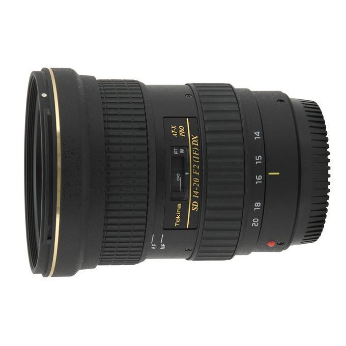 Objectif Tokina Canon EF 14-20mm f/2