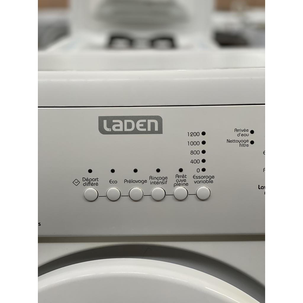 Lave-linge classique 60 cm Frontal Laden FL 1256