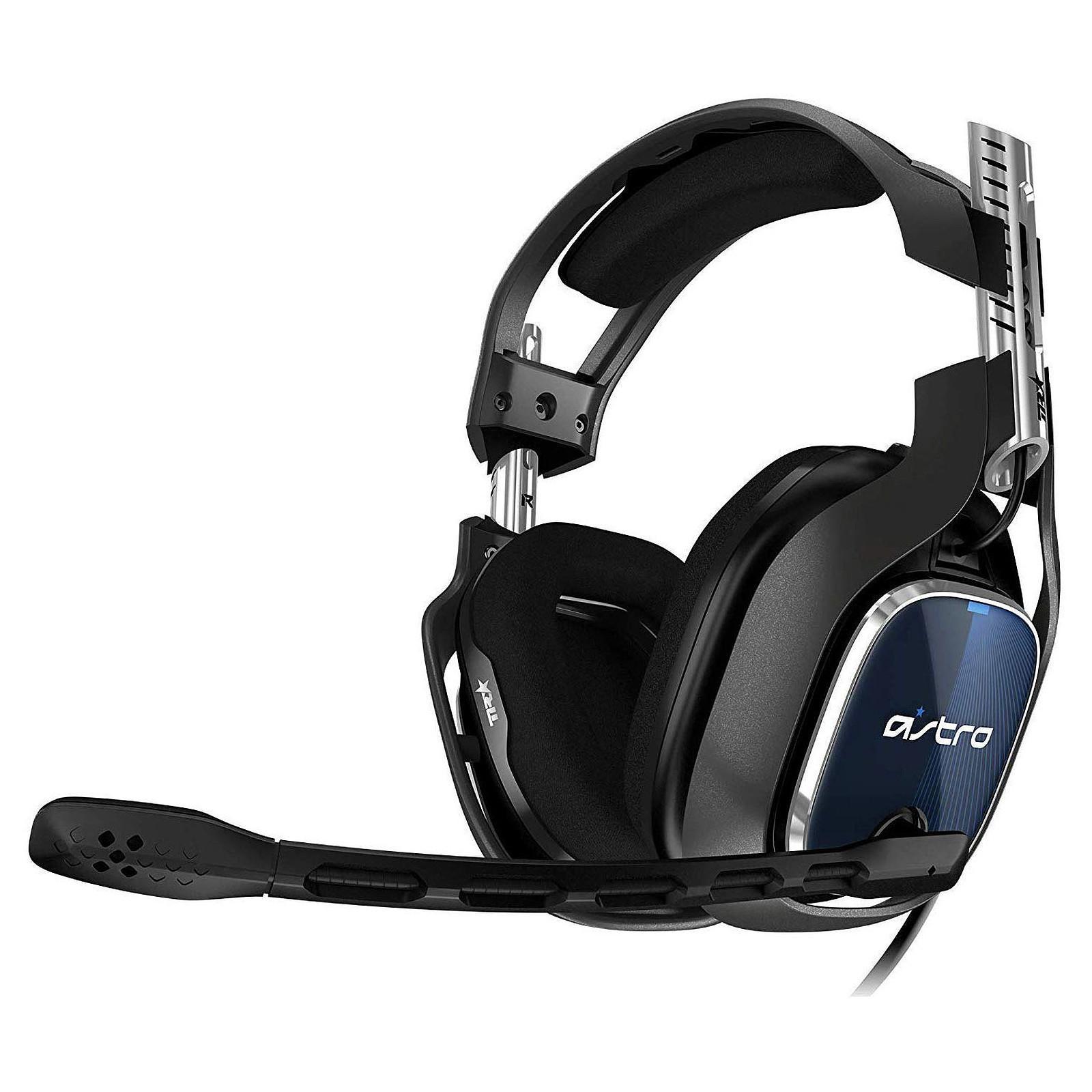 Casque Réducteur de Bruit Gaming avec Micro Astro A40 TR - Noir/Bleu