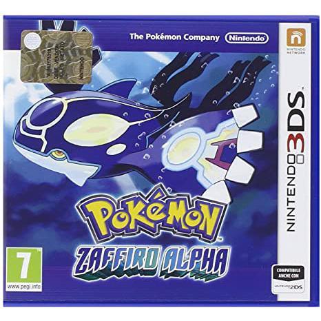 Pokemon Saphir Alpha - Nintendo 3DS