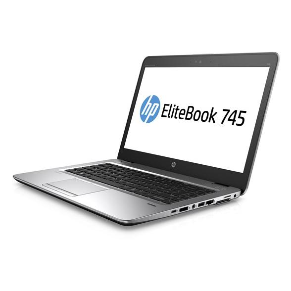 HP EliteBook 745 G3 14-tum (2016) - PRO A10-8700B - 8GB - SSD 240 GB QWERTZ - Tyska