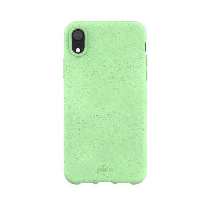 Funda iPhone XR - Biodegradable - Verde menta