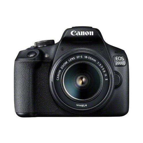 Reflex - Canon EOS 2000D Noir Canon EF-S 18-55mm f/3.5-5.6 IS II