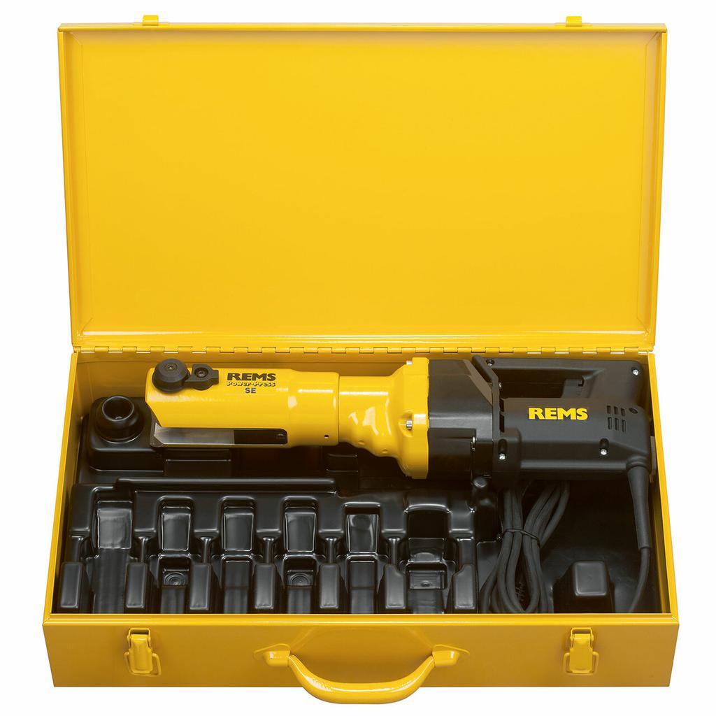 Rems Power-Press SE Elektrische Radiaal persmachine 572111