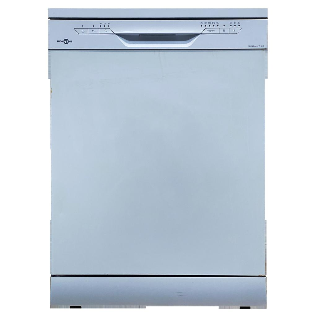 Lave-vaisselle 60 cm High One 12C49 A++ W SIC - 12 Couverts
